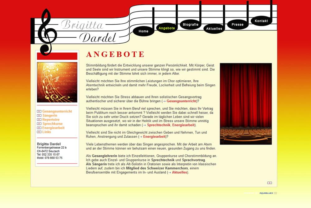 Webseite Brigitta Dardel Seuzach