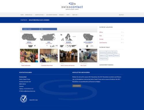 Senior Expert Contact (SEC)